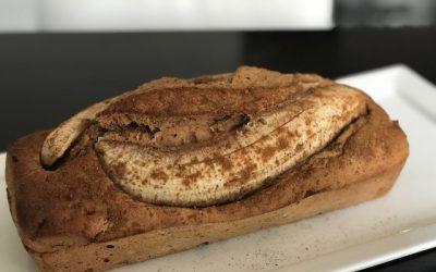 Bananen-speculaas cake