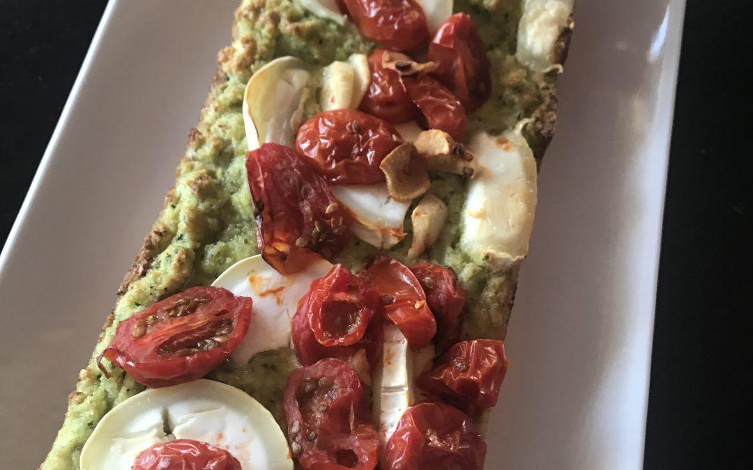 Courgette pesto amandelbrood (te lekker)